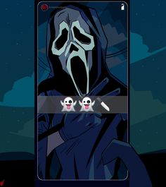 Horror Icons, Horror Art, Horror Movie Characters, Horror Movies, Scream Movie, Scream 1, Ghostface Scream, Creepypasta Oc, Horror Drawing