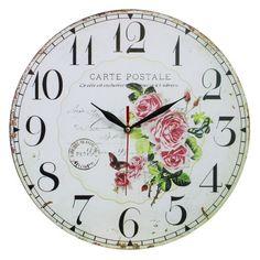shabby chic wall clock - Buscar con Google