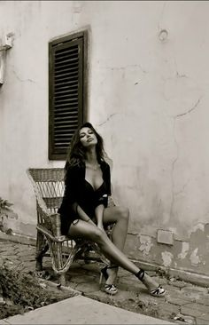 being unashamedly female, sexy in a red wine sort of way, a la Madalina Ghenea