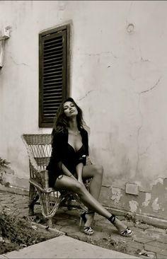 being unashamedly female, sexy in a red wine sort of way, a la Madalina Ghenea