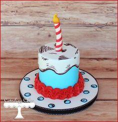 Dr. Seuss smash cake