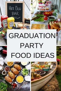 Plan a high school graduation party on a budget. Ideas for decor, cake, food, and invitations for Graduation Party Desserts, Outdoor Graduation Parties, Graduation Party Planning, Graduation Party Themes, College Graduation Parties, Grad Parties, Graduation Ideas, Graduation Gifts, Graduation Banner