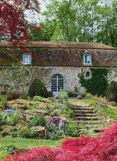 La Foulerie Tea Room, Courances, Essonne, France
