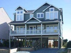 June, Baby!!!  Holden Beach, NC - Summer Breeze 1121 a 6 Bedroom Oceanfront Rental House in Holden Beach, part of the Brunswick Beaches of North Carolina. Includes Elevator, Private Pool, Hot Tub, Hi-Speed Internet