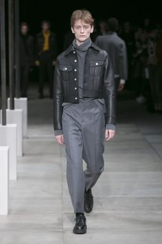 Sandro, Look #9 Fall Winter 2016 - Paris Man Fashion Week - Bxy Frey