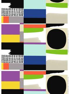 Komuutti, design by Jenni Tuominen for Marimekko. #marimekko #ss15 pinned with Pinvolve - pinvolve.co