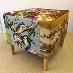 Upholstery service covering Leeds and Manchester specialising in vintage & retro mid century chairs and sofas. Also selling vintage fabric chairs and cushions Upcycled Furniture, Painted Furniture, Diy Furniture, Eclectic Chairs, Eclectic Fabric, Deco Boheme, Vintage Embroidery, Embroidery Thread, Soft Furnishings