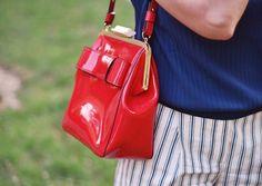 Rosaspina Vintage: With SS13 Orla Kiely Holly Bag