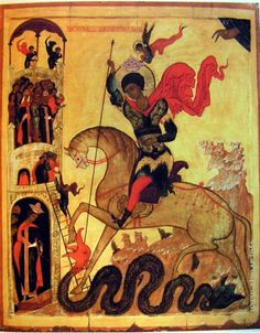 Saint George Byzantine Icons, Byzantine Art, Biblical Art, Biblical Hebrew, Patron Saint Of England, Saint George And The Dragon, 12 Tribes Of Israel, Africa Art, Archangel Michael