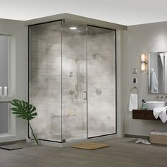 Residential steam shower large size of picture ideas units doors best room dimensions s . Steam Room Shower, Tub Shower Combo, Bathroom Renos, Bathroom Ideas, Home Spa, Room Dimensions, Shower Doors, Cool Rooms, Grey Walls