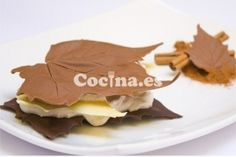 Hojas de chocolates con nata: http://hojas-de-chocolate-con-nata.recetascomidas.com/
