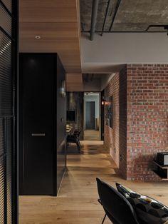 日作設計,室內設計,住宅裝修 Dream Home Design, House Design, Entry Hallway, Loft, Interior Design, Architecture, Table, Modern Interiors, Furniture
