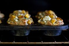 Pumpkin and Feta Muffins.  Made these for Thanksgiving last year and they.were.amazing.