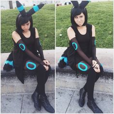 Shiny Umbreon Cosplay by Caitlin Garcia