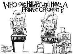 Queen Hillary — Radical Hag in Drag — Clinton Is The One — Game of ...