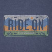 Ride On License Plate