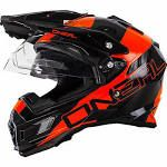 O Neal Sierra Adventure Motocross Helmet Orange Off Road ...