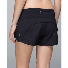 lululemon Run Times Short *4-way Stretch ($54) ❤ liked on Polyvore featuring activewear, activewear shorts, athletic sportswear and lululemon