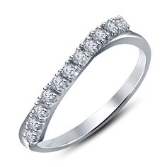 New Siover Anniversary Band Ring in Sterling Silver 925 For Valentine Special #Siover #AnniversaryBand