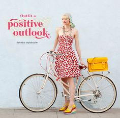super cute clothing from www.modcloth.com featuring lots of retro/pinup styles and lots of pinup bathing suits. Prices are very reasonable for how cute their clothes are.