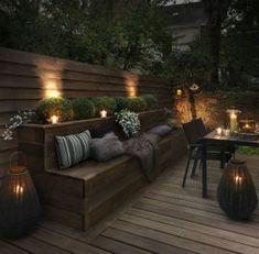 Backyard Seating, Backyard Patio, Backyard Landscaping, Landscaping Ideas, Patio Ideas, Porch Ideas, Diy Patio, Outdoor Ideas, Party Outdoor
