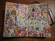 Prompt doodling for journals