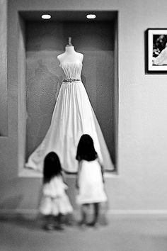 i would love to display my wedding dress like this in my closet after our wedding - Dress Frame