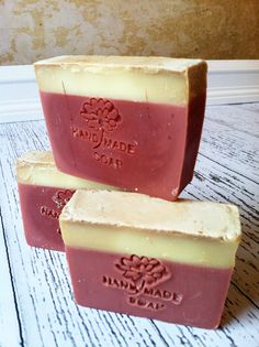 Candied Apple Soap by GoatinCrazyFarms on Etsy, $6.00