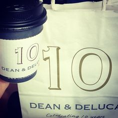 "@haruko0307 on Instagram DEAN & DELUCA 新宿店 ""the last treat for 10th anniv. mug♡ finally got it! i don like such stamp-rally things, but it was the exception."""