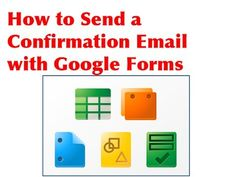 Submit a Google Form and Auto Email Responses to Admin and Form User - YouTube