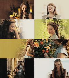 Lord Mace's youngest child appears to be the culmination of her siblings' best traits: she has the intelligence of her brother Willas, the observance of courtesies from Garlan, and the good looks of Loras. She has also inherited her father's desire for advancement and the Queen of Thorn's cunning - yet her ability to keep her true intentions hidden is completely her own.