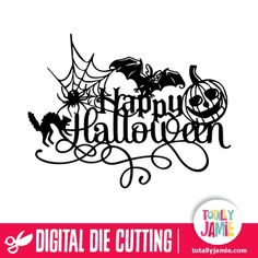 Silhouette Design Store - View Design happy halloween decoration Halloween costumes Halloween decorations Halloween food Halloween ideas Halloween costumes couples Halloween from brit + co Halloween Halloween Scene, Halloween Ghosts, Holidays Halloween, Halloween Crafts, Happy Halloween, Halloween Decorations, Halloween Stencils, Halloween Designs, Halloween Parties
