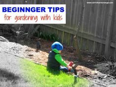 gardening with kids...links to activities and kids books