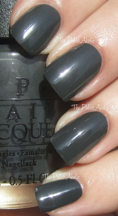 OPI Fall 2012 Germany Collection Swatches! - Nein Nein Ok Fine