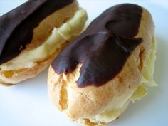 Eclairs and Cream Puffs