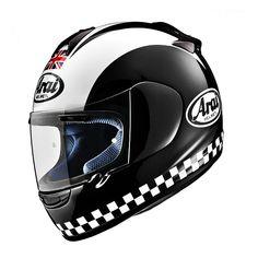 Arai Vector Full Face Helmet - Phil Read - Arai - Motorcycle Helmets - MotorcycleToyStore - Motorcycle Accessories and Motorcycle Gear Arai Helmets, Racing Helmets, Motorcycle Gear, Motorcycle Accessories, Retro Helmet, Cafe Racing, Full Face Helmets, Moto Guzzi