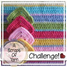 Creative Crochet Toys: Scraps of Yarn Challenge - JULY 2015 CAL Part 1 - free 3 part crochet-a-long