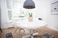 Eettafel Rond Wit Hout.18 Beste Afbeeldingen Van Ronde Eettafel Dining Room Dining Table