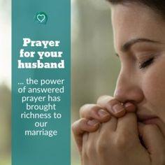 Prayer for your Husband - Christian Family Heritage