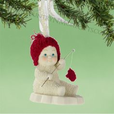 Department 56 Snowbabies - Celebrations - Catch of the Day Ornament