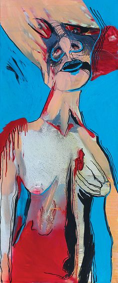 m...  50x120 cm oil on canvas
