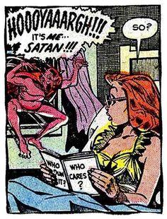 Satan!!