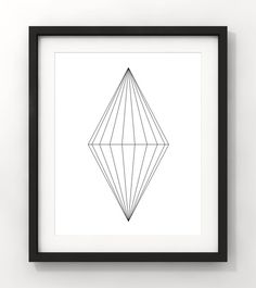 Downloadable Art Geometric Art Home Decor Minimalist by fileclerk Minimalist Art, Geometric Art, Modern Art, Black And White, Unique Jewelry, Handmade Gifts, Etsy, Vintage, Home Decor
