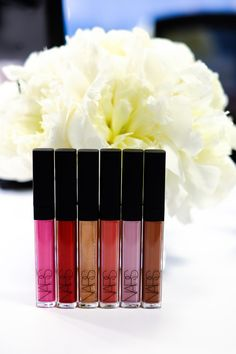 NARS Lippies. #beauty #makeup #nars #purseblog