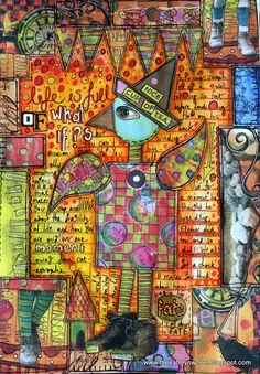 Art journal - Life is full of what if?s | Flickr - Photo Sharing!