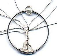 of Life Wire Work Tutorial Tree of life tutorial. I wanna put my family s birthstones on it. 3 and 4 quot; of life tutorial. I wanna put my family s birthstones on it. 3 and 4 quot; Wire Jewelry Making, Jewelry Making Tutorials, Wire Wrapped Jewelry, Metal Jewelry, Jewlery, Wire Tutorials, Key Jewelry, Jewelry Ideas, Bead Studio