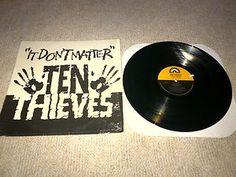 Ten Thieves It Don't Matter Vinyl (Radio Mix, Straight Mix, B-A-D Mix)
