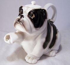 English Bulldog  Tea Pot