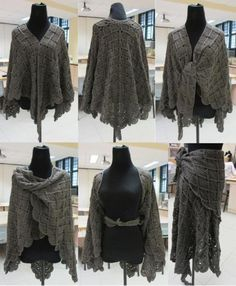 Lacy Wrap-Around Shawl
