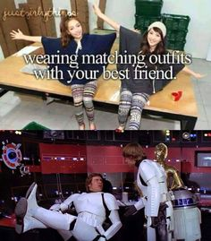 wearing matching outfits with your bestie at theme parks with your friends & family memers too or your special some one why not! lol ;)